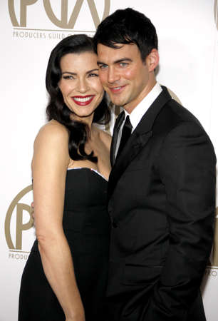 keith: Julianna Margulies and Keith Lieberthal at the 24th Annual Producers Guild Awards held at the Beverly Hilton Hotel in Beverly Hills, USA on January 26, 2013. Editorial