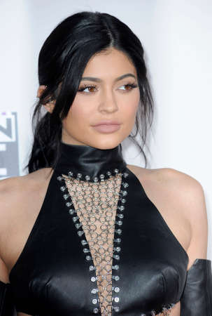 american music: Kylie Jenner at the 2015 American Music Awards held at the Microsoft Theater in Los Angeles, USA on November 22, 2015.