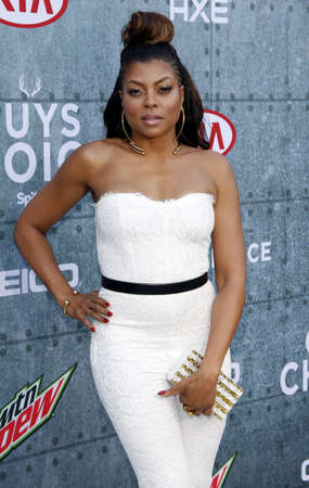culver city: Taraji P. Henson at the 2015 Spike TVs Guys Choice Awards held at the Sony Pictures Studios in Culver City, USA on June 6, 2015.