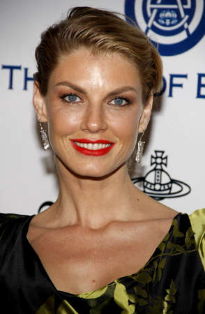 culver city: Angela Lindvall at the Art Of Elysiums 9th Annual Heaven Gala held at the 3LABS in Culver City, USA on January 9, 2016.