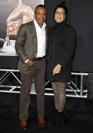 creed: Sugar Ray Leonard at the Los Angeles premiere of Creed held at the Regency Village Theatre in Westwood, USA on November 19, 2015. Editorial