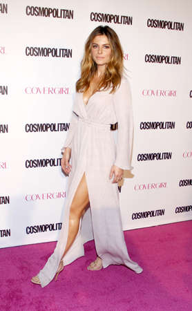 west hollywood: Maria Menounos at the Cosmopolitans 50th Birthday Celebration held at the Ysabel in West Hollywood, USA on October 12, 2015. Editorial