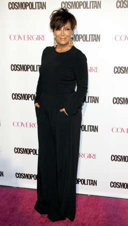 west hollywood: Kris Jenner at the Cosmopolitans 50th Birthday Celebration held at the Ysabel in West Hollywood, USA on October 12, 2015. Editorial