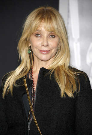 creed: Rosanna Arquette at the Los Angeles premiere of Creed held at the Regency Village Theatre in Westwood, USA on November 19, 2015. Editorial