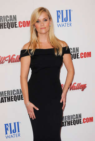 reese: Reese Witherspoon at the 29th American Cinematheque Award Honoring Reese Witherspoon held at the Hyatt Regency Century Plaza in Los Angeles on October 30, 2015.