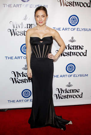 culver city: Sasha Alexander at the Art Of Elysiums 9th Annual Heaven Gala held at the 3LABS in Culver City, USA on January 9, 2016. Editorial
