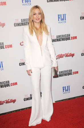 honoring: Kate Hudson at the 29th American Cinematheque Award Honoring Reese Witherspoon held at the Hyatt Regency Century Plaza in Los Angeles on October 30, 2015.