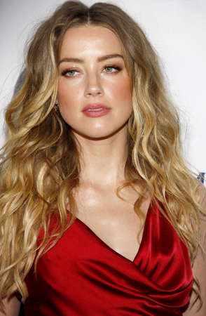 culver city: Amber Heard at the Art Of Elysiums 9th Annual Heaven Gala held at the 3LABS in Culver City, USA on January 9, 2016. Editorial