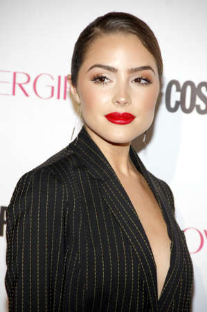 west hollywood: Olivia Culpo at the Cosmopolitans 50th Birthday Celebration held at the Ysabel in West Hollywood, USA on October 12, 2015. Editorial