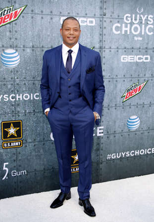 culver city: Terrence Howard at the 2015 Spike TVs Guys Choice Awards held at the Sony Pictures Studios in Culver City, USA on June 6, 2015.