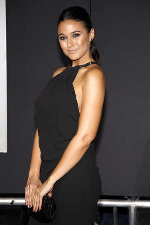 creed: Emmanuelle Chriqui at the Los Angeles premiere of Creed held at the Regency Village Theatre in Westwood, USA on November 19, 2015. Editorial