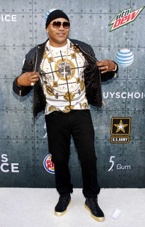 culver city: LL Cool J at the 2015 Spike TVs Guys Choice Awards held at the Sony Pictures Studios in Culver City, USA on June 6, 2015.