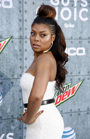 Taraji P. Henson at the 2015 Spike TVs Guys Choice Awards held at the Sony Pictures Studios in Culver City, USA on June 6, 2015.
