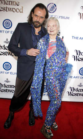 culver city: Vivienne Westwood at the Art Of Elysiums 9th Annual Heaven Gala held at the 3LABS in Culver City, USA on January 9, 2016.