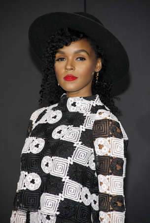 creed: Janelle Monae at the Los Angeles premiere of Creed held at the Regency Village Theatre in Westwood, USA on November 19, 2015. Editorial