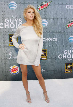 culver city: Charlotte McKinney at the 2015 Spike TVs Guys Choice Awards held at the Sony Pictures Studios in Culver City, USA on June 6, 2015. Editorial
