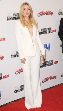Kate Hudson at the 29th American Cinematheque Award Honoring Reese Witherspoon held at the Hyatt Regency Century Plaza in Los Angeles on October 30, 2015.