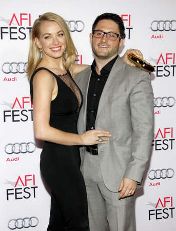 concussion: Sara Lindsey and Mike Ciulla at the AFI FEST 2015 Centerpiece Gala premiere of Concussion held at the TCL Chinese Theatre in Hollywood, USA on November 10, 2015.