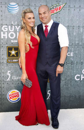 Amber Nichole Miller and Tito Ortiz at the 2015 Spike TVs Guys Choice Awards held at the Sony Pictures Studios in Culver City, USA on June 6, 2015. Editorial