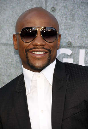 culver city: Floyd Mayweather Jr. at the 2015 Spike TVs Guys Choice Awards held at the Sony Pictures Studios in Culver City, USA on June 6, 2015.