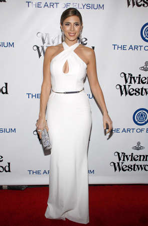 Jamie-Lynn Sigler at the Art Of Elysiums 9th Annual Heaven Gala held at the 3LABS in Culver City, USA on January 9, 2016.