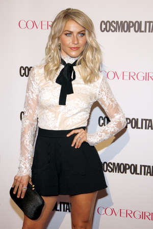 west hollywood: Julianne Hough at the Cosmopolitans 50th Birthday Celebration held at the Ysabel in West Hollywood, USA on October 12, 2015. Editorial