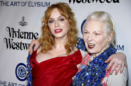 christina: Christina Hendricks and Vivienne Westwood at the Art Of Elysiums 9th Annual Heaven Gala held at the 3LABS in Culver City, USA on January 9, 2016. Editorial