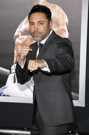 creed: Oscar De La Hoya at the Los Angeles premiere of Creed held at the Regency Village Theatre in Westwood, USA on November 19, 2015. Editorial