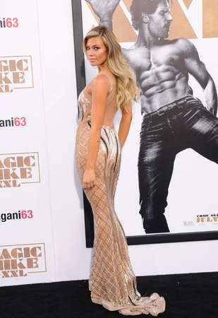june 25: Samantha Hoopes at the World premiere of Magic Mike XXL held at the TCL Chinese Theatre in Hollywood, USA on June 25, 2015.