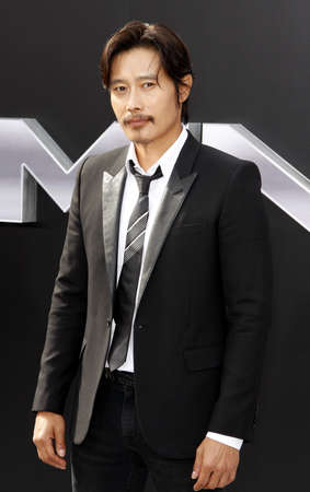 terminator: Byung-hun Lee at the Los Angeles premiere of Terminator Genisys held at the Dolby Theatre in Hollywood, USA on June 28, 2015.