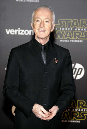 daniels: HOLLYWOOD, CA - Anthony Daniels at the World premiere of Star Wars: The Force Awakens held at the TCL Chinese Theatre in Hollywood, USA on December 14, 2015. Editorial