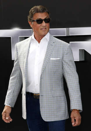 terminator: Sylvester Stallone at the Los Angeles premiere of Terminator Genisys held at the Dolby Theatre in Hollywood, USA on June 28, 2015.