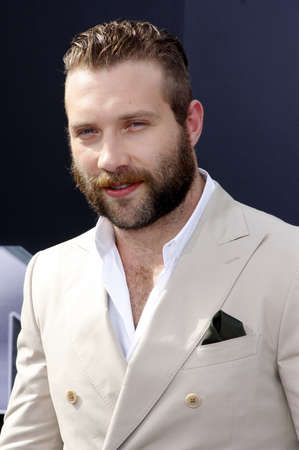 terminator: Jai Courtney at the Los Angeles premiere of Terminator Genisys held at the Dolby Theatre in Hollywood, USA on June 28, 2015.
