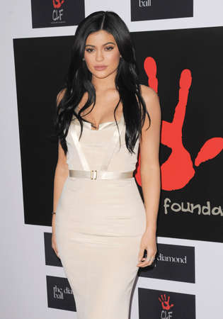 barker: Kylie Jenner at the 2nd Annual Diamond Ball held at the Barker Hanger in Santa Monica, USA on December 10, 2015.