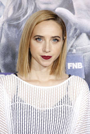 Zoe Kazan at the Los Angeles premiere of Our Brand Is Crisis held at the TCL Chinese Theatre in Hollywood, USA on October 26, 2015. Editorial