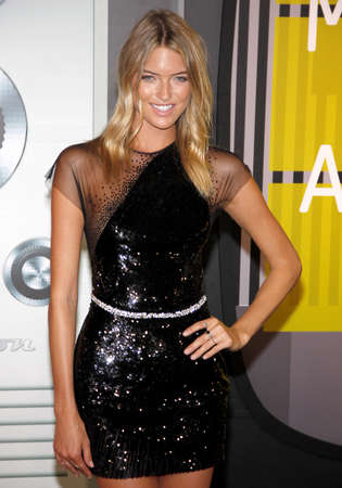 martha: LOS ANGELES, CA - AUGUST 30, 2015: Martha Hunt at the 2015 MTV Video Music Awards held at the Microsoft Theater in Los Angeles, USA on August 30, 2015.