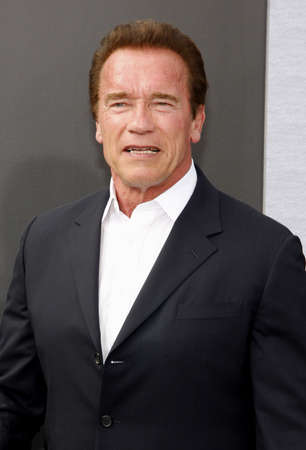 terminator: Arnold Schwarzenegger at the Los Angeles premiere of Terminator Genisys held at the Dolby Theatre in Hollywood, USA on June 28, 2015. Editorial