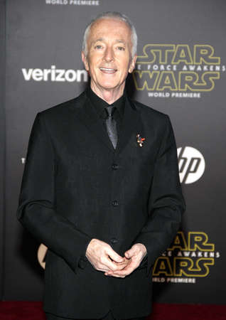 daniels: Anthony Daniels at the World premiere of Star Wars: The Force Awakens held at the TCL Chinese Theatre in Hollywood, USA on December 14, 2015.