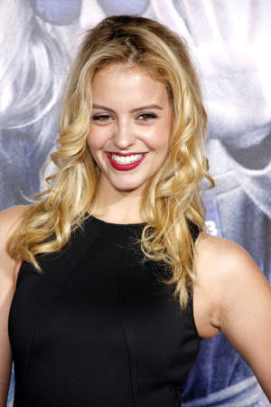 gage: HOLLYWOOD, CA, USA - OCTOBER 26, 2015: Gage Golightly at the Los Angeles premiere of Our Brand Is Crisis held at the TCL Chinese Theatre in Hollywood.