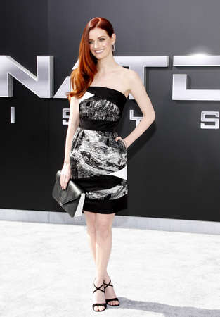 terminator: Lydia Hearst at the Los Angeles premiere of Terminator Genisys held at the Dolby Theatre in Hollywood, USA on June 28, 2015.
