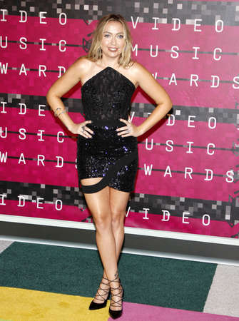 cyrus: Brandi Cyrus at the 2015 MTV Video Music Awards held at the Microsoft Theater in Los Angeles, USA on August 30, 2015.
