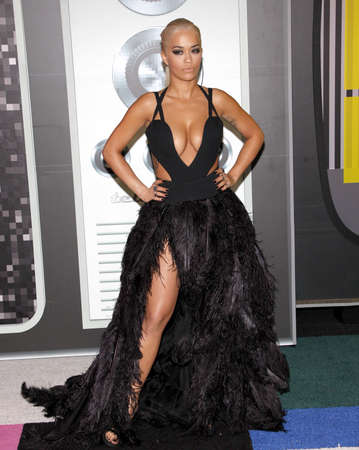mtv: Rita Ora at the 2015 MTV Video Music Awards held at the Microsoft Theater in Los Angeles, USA on August 30, 2015.