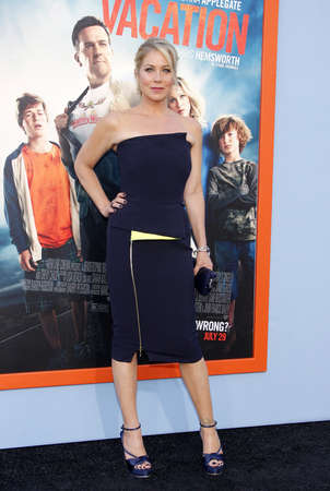 christina: Christina Applegate at the Los Angeles premiere of Vacation held at the Regency Village Theatre in Westwood, USA on July 27, 2015.