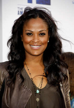 premiere: Laila Ali at the 42 Los Angeles Premiere at TCL Chinese Theater on April 9, 2013 in Hollywood, California.