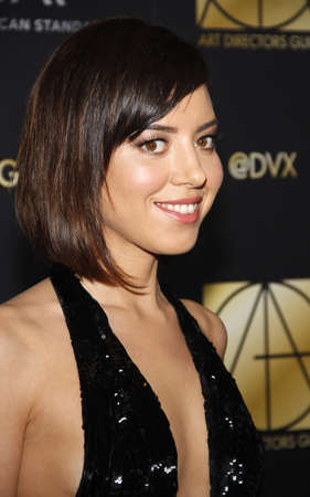 guild: Aubrey Plaza at the 20th Annual Art Directors Guild Excellence In Production Design Awards held at the Beverly Hilton Hotel in Beverly Hills, USA on January 31, 2016. Editorial