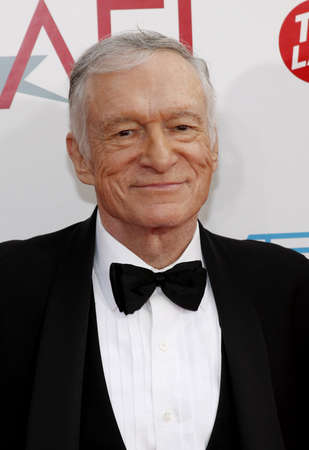 hugh: Hugh Hefner at the 37th AFI Lifetime Achievement Award: A Tribute to Michael Douglas held at the Sony Pictures Studios in Culver City on June 11, 2009. Editorial