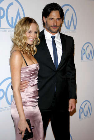 guild: Joe Manganiello and Audra Marie at the 22nd Annual Producers Guild Awards held at the Beverly Hilton hotel in Beverly Hills, USA on January 22, 2011. Editorial