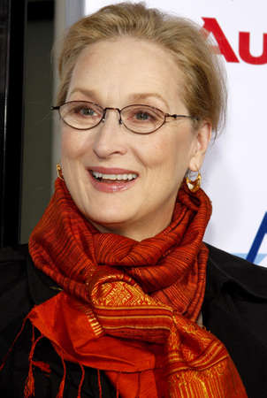 Meryl Streep at the AFI FEST 2008 Opening Night Film Premiere Of Doubt held at the Graumans Chinese Theater in Hollywood, USA on November 30, 2008. Editorial