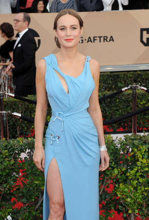 guild: Brie Larson at the 22nd Annual Screen Actors Guild Awards held at the Shrine Auditorium in Los Angeles, USA on January 30, 2016. Editorial