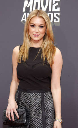 alexa: Alexa Vega at the 2013 MTV Movie Awards held at the Sony Pictures Studios in Los Angeles, USA on April 14, 2013.